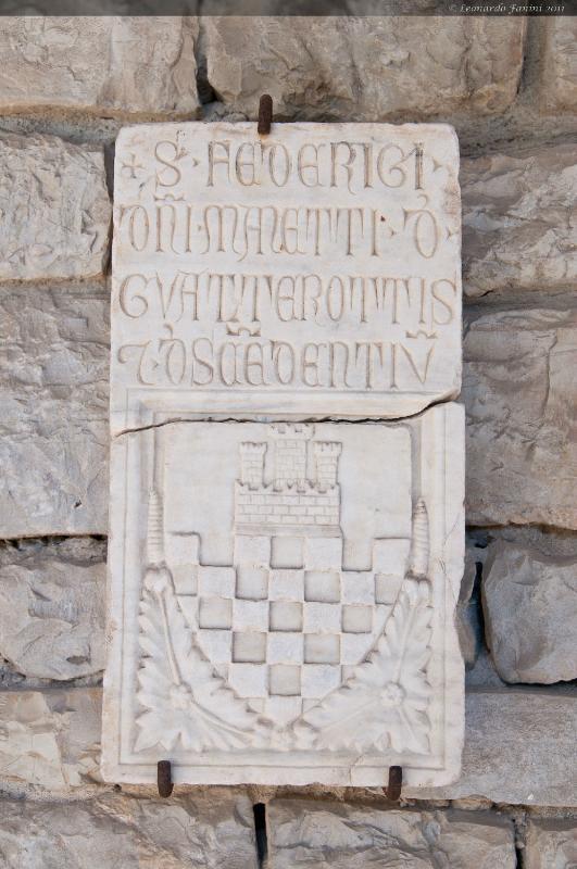 lo stemma poi usato come simbolo araldico dal comune di Scandicci