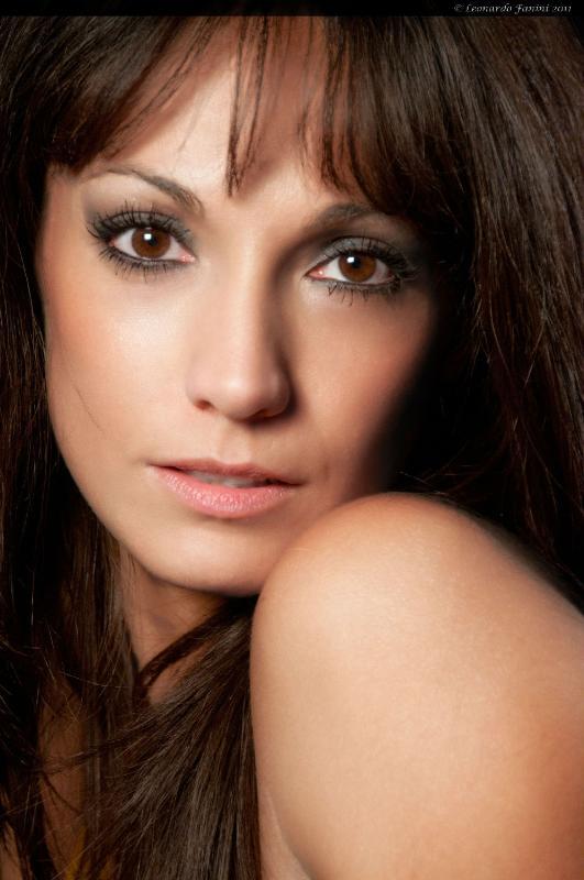 glamour portrait, model Jennifer L.